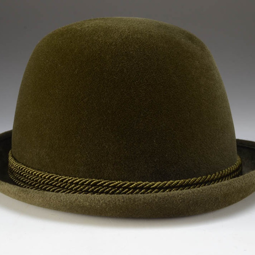 cec6045eafeee Mid-Century Vintage Etruscan Hat Co. for Shillito s Men s Bowler   EBTH