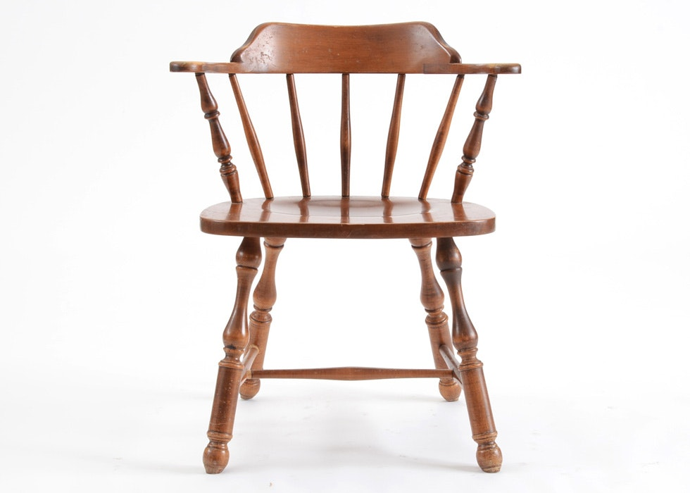 Maple Heywood Wakefield Mateu0027s Chair ...