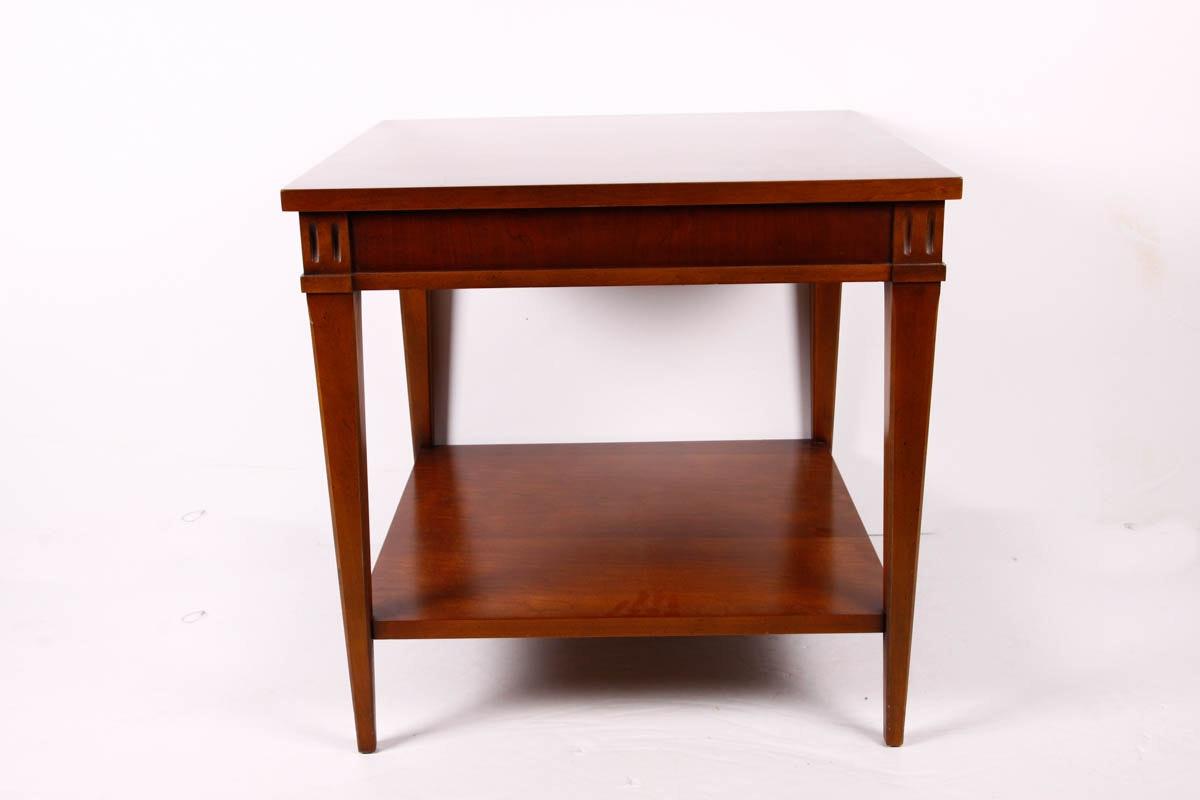 Genial Lane Furniture Wood Side Table ...