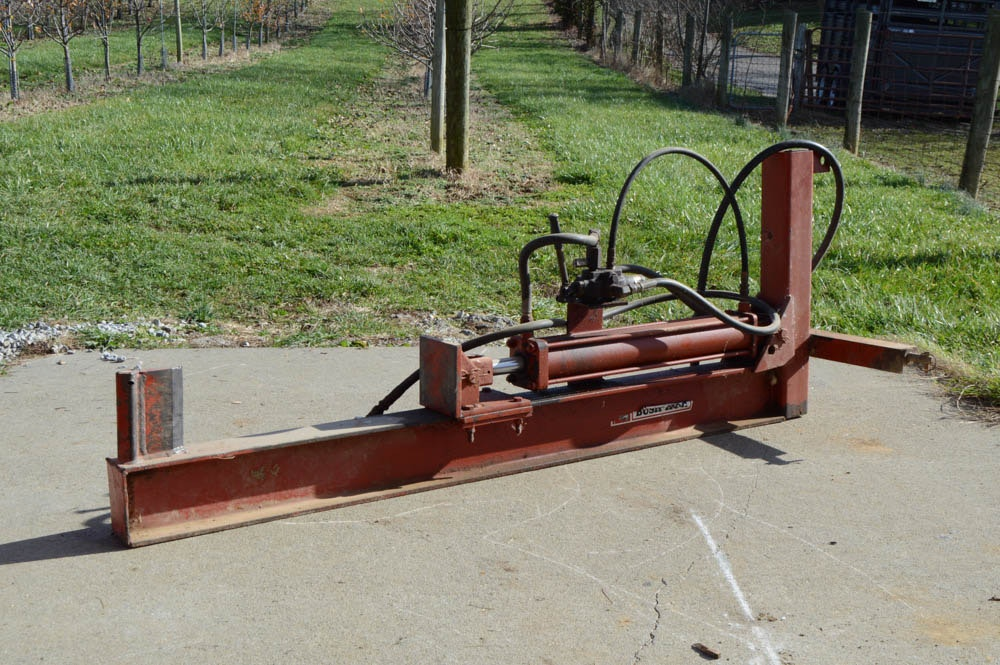 Bush Hog Log Splitter
