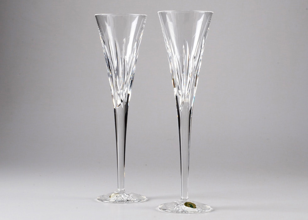waterford crystal champagne flutes - Crystal Champagne Flutes
