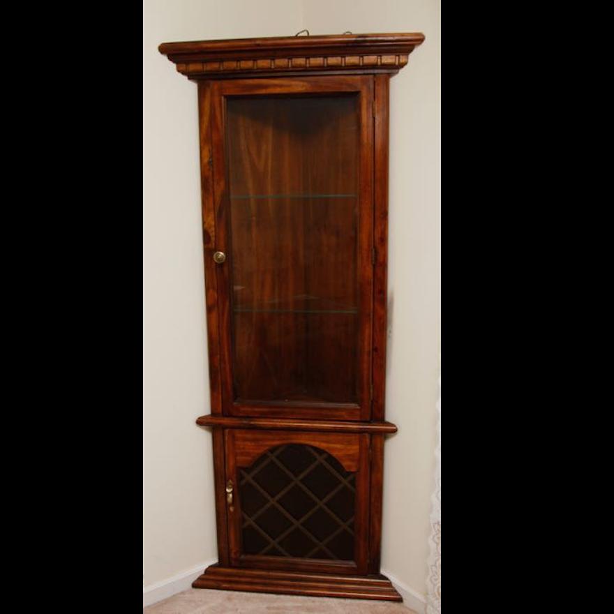Vintage Knotty Pine Kitchen Cabinets: Vintage Knotty Pine Corner Cabinet