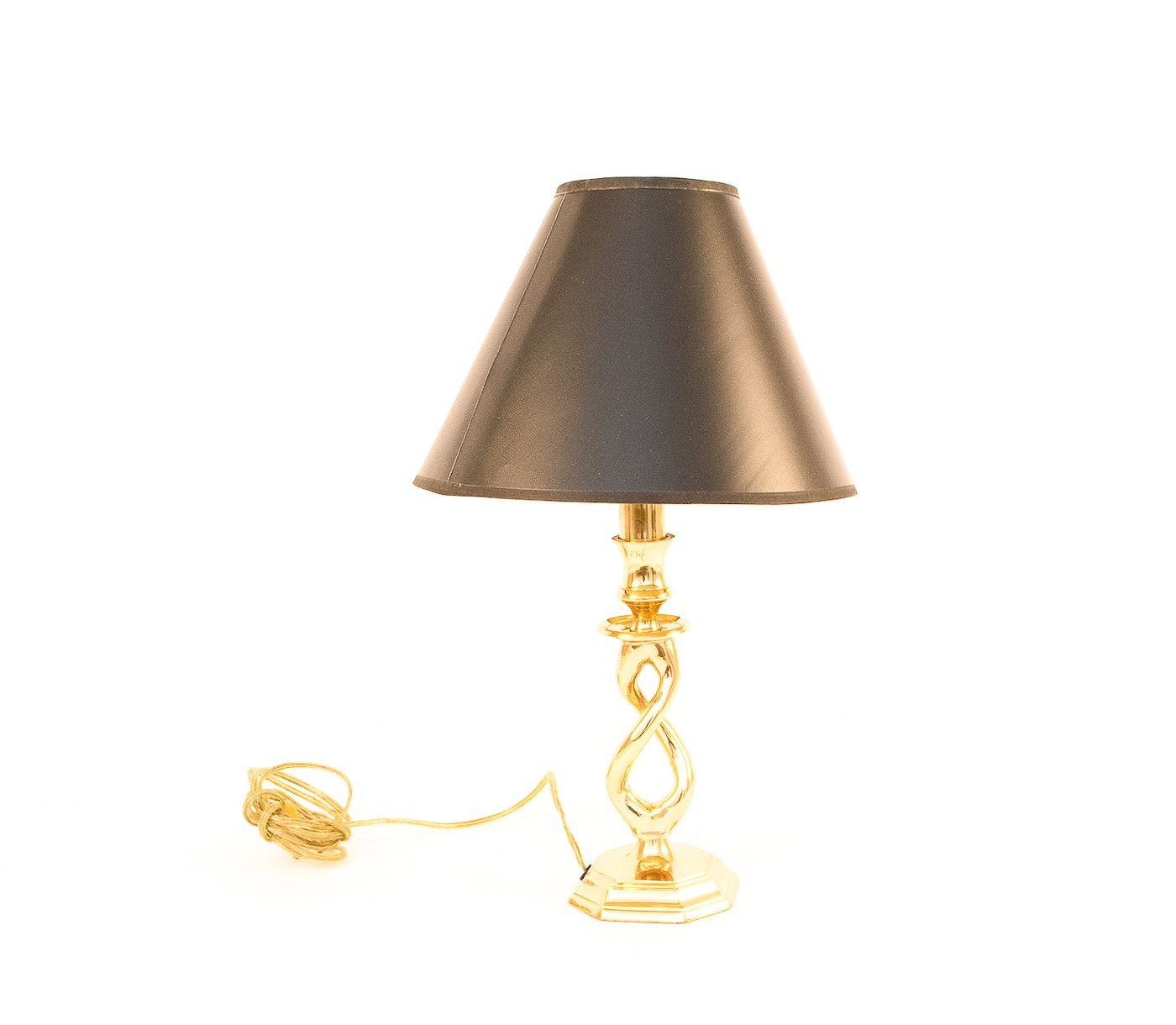 Group Of Four Table Lamps Including One By Speer Ebth