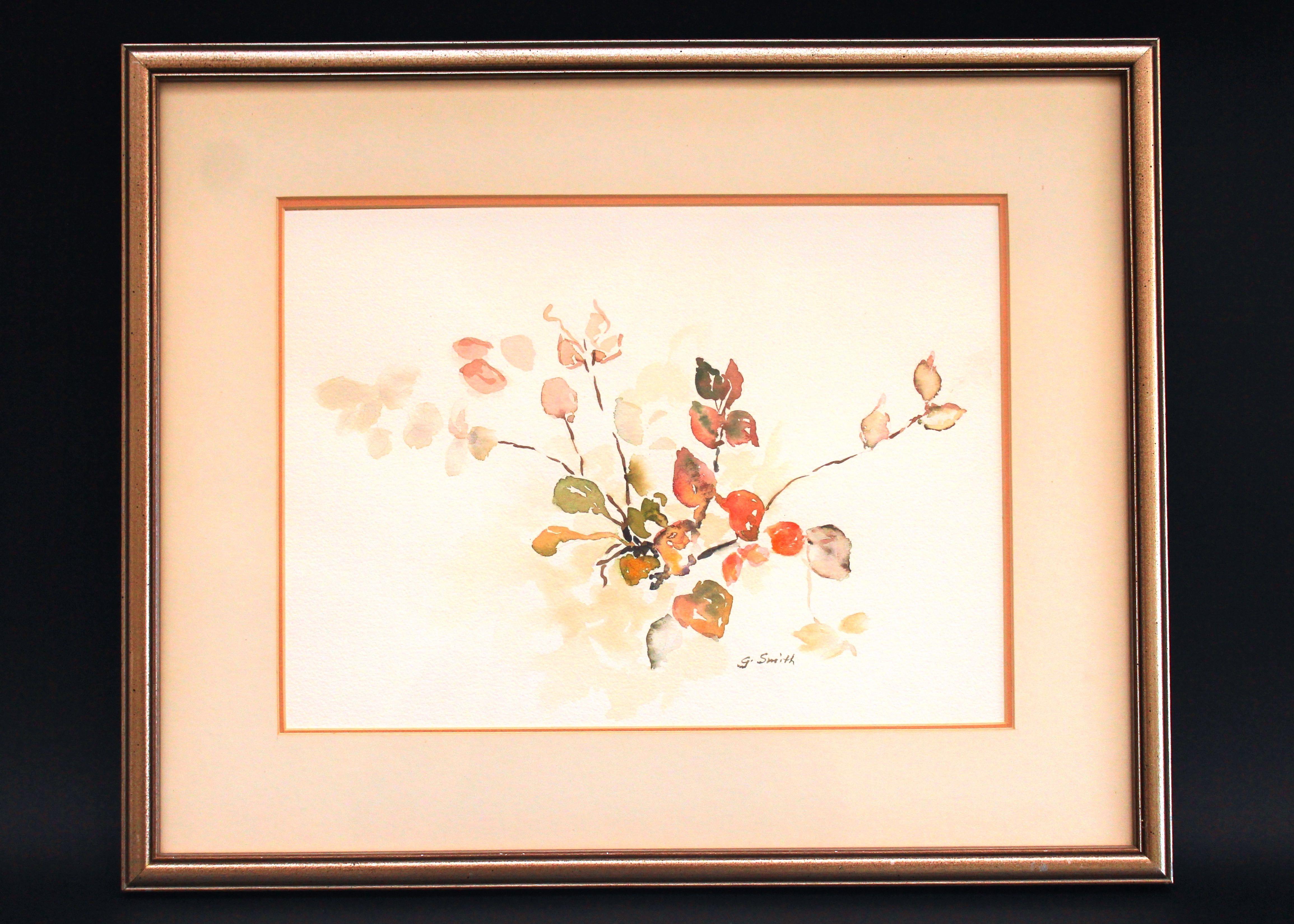 Original Watercolor By Sanibel Artist Gail Smith Ebth