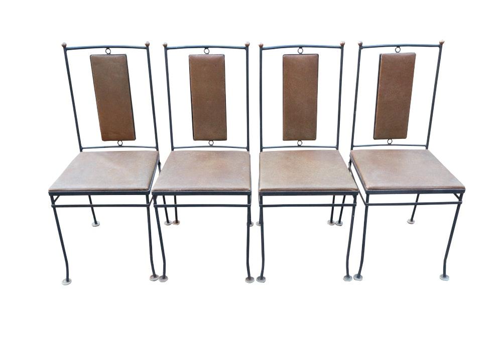 Gallo Original Ironworks Mid Century Chairs