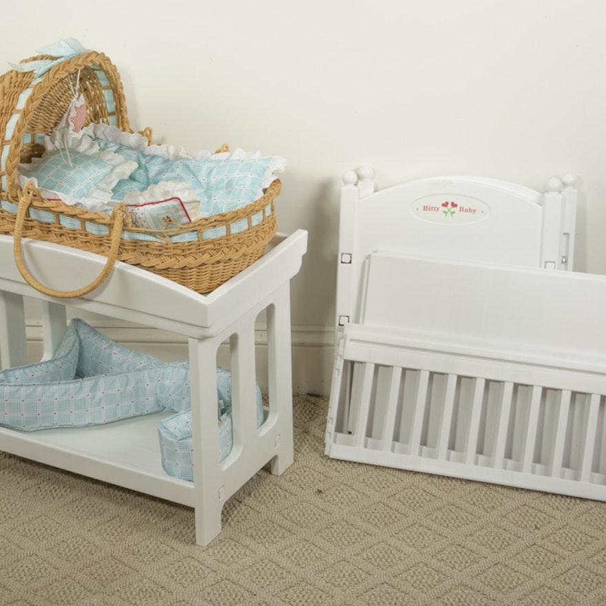 "American Baby Furniture Manufacturers: American Girl ""Bitty Baby"" Furniture"