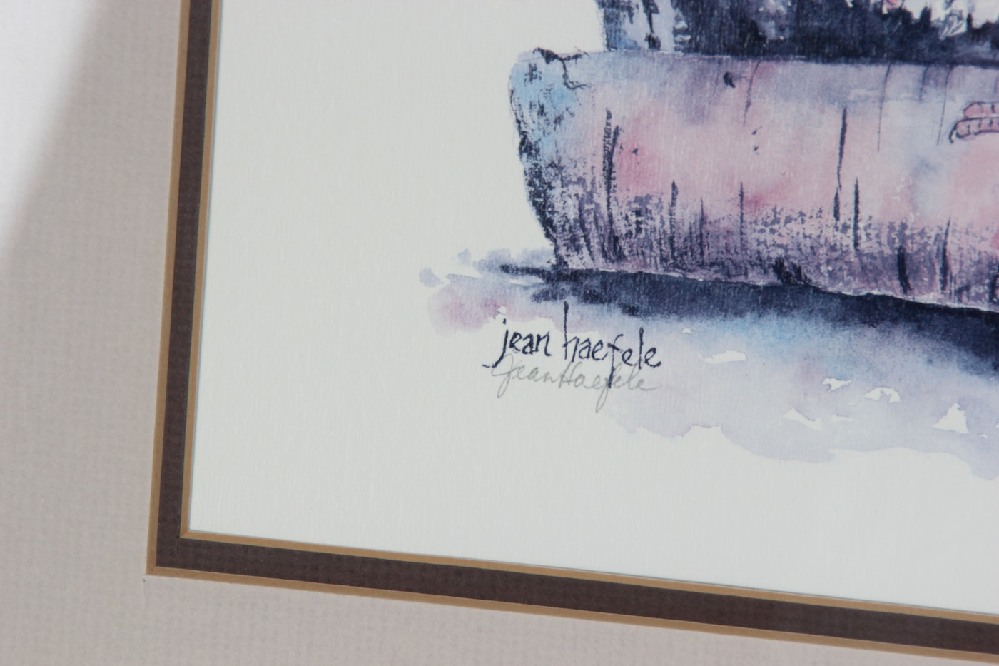 Pair Of Signed Limited Edition Jean Haefele Prints Ebth