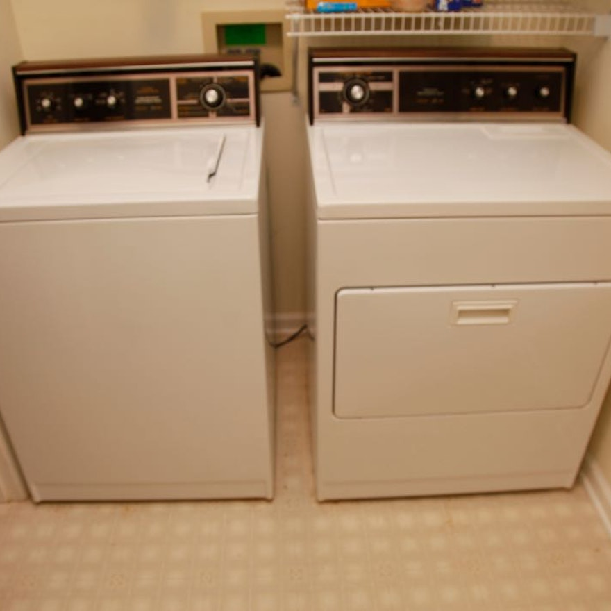 Lady Kenmore Washer And Dryer