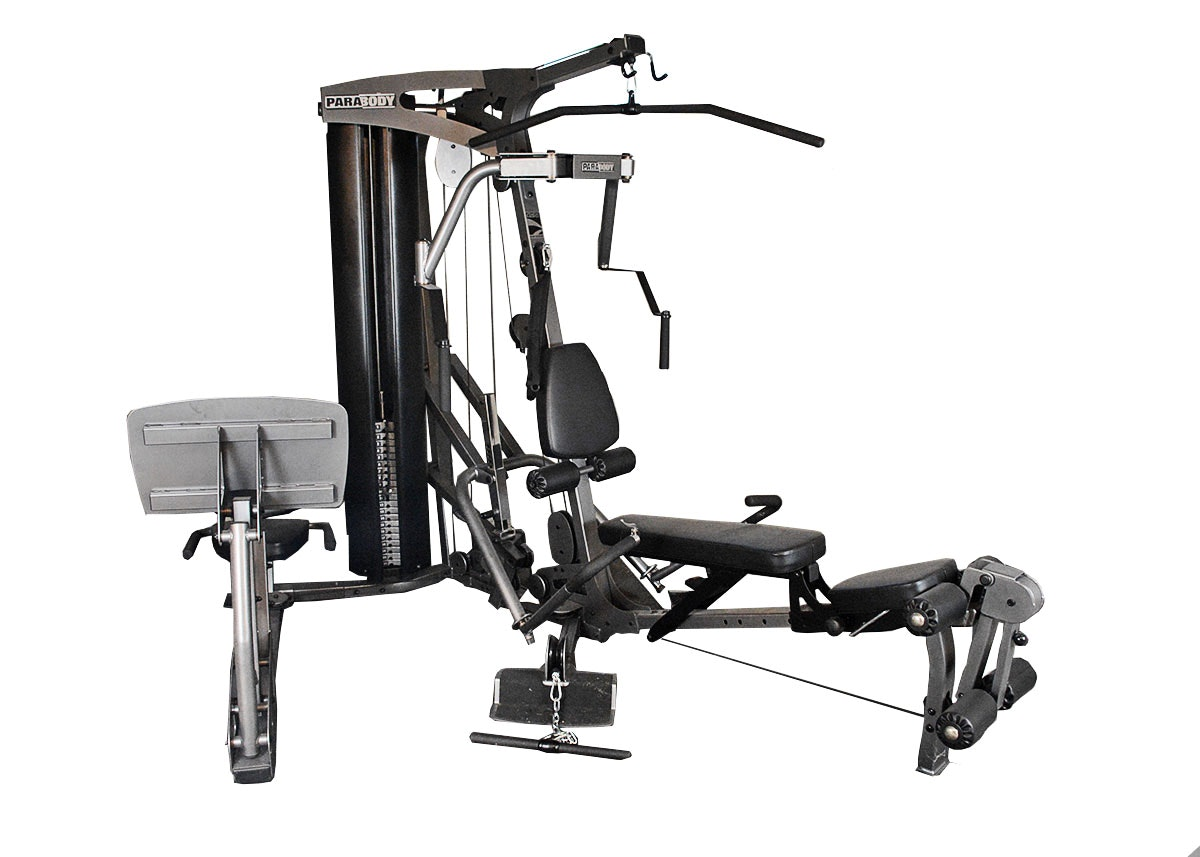 Parabody Gs6 Cable Motion Gym System With Leg Press Ebth