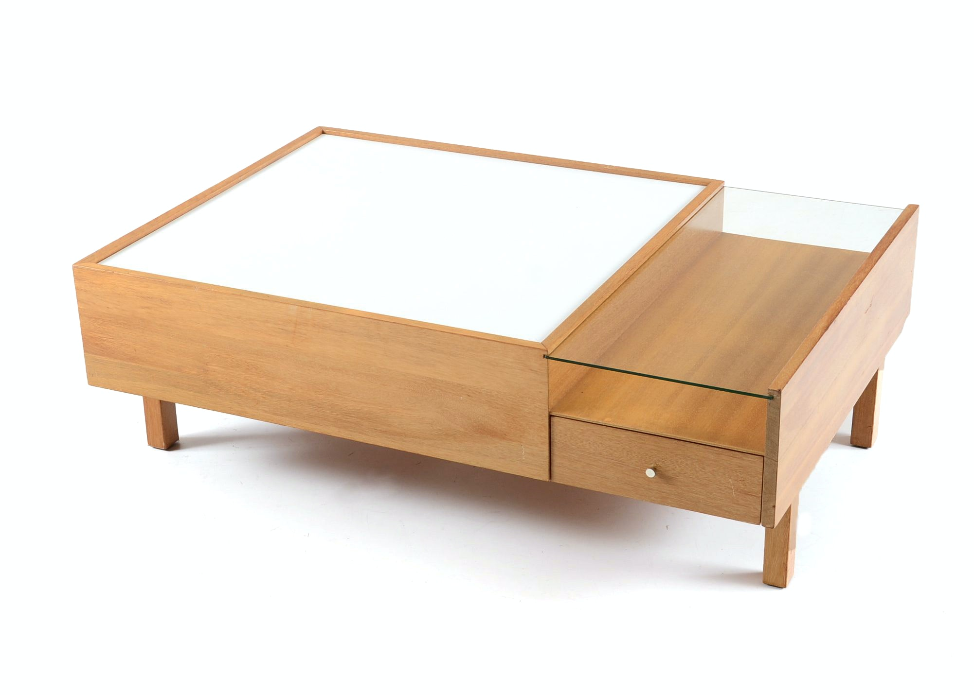 Brown Saltman Coffee Table ...