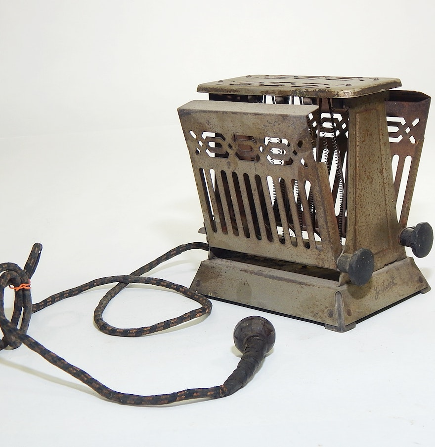 Antique Electric Toasters ~ Antique edison electric hot point toaster ebth