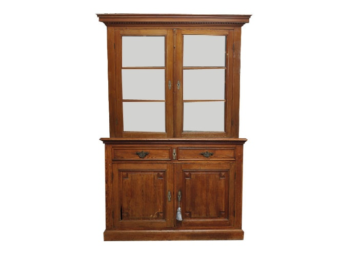 Vintage Heart Pine Cupboard