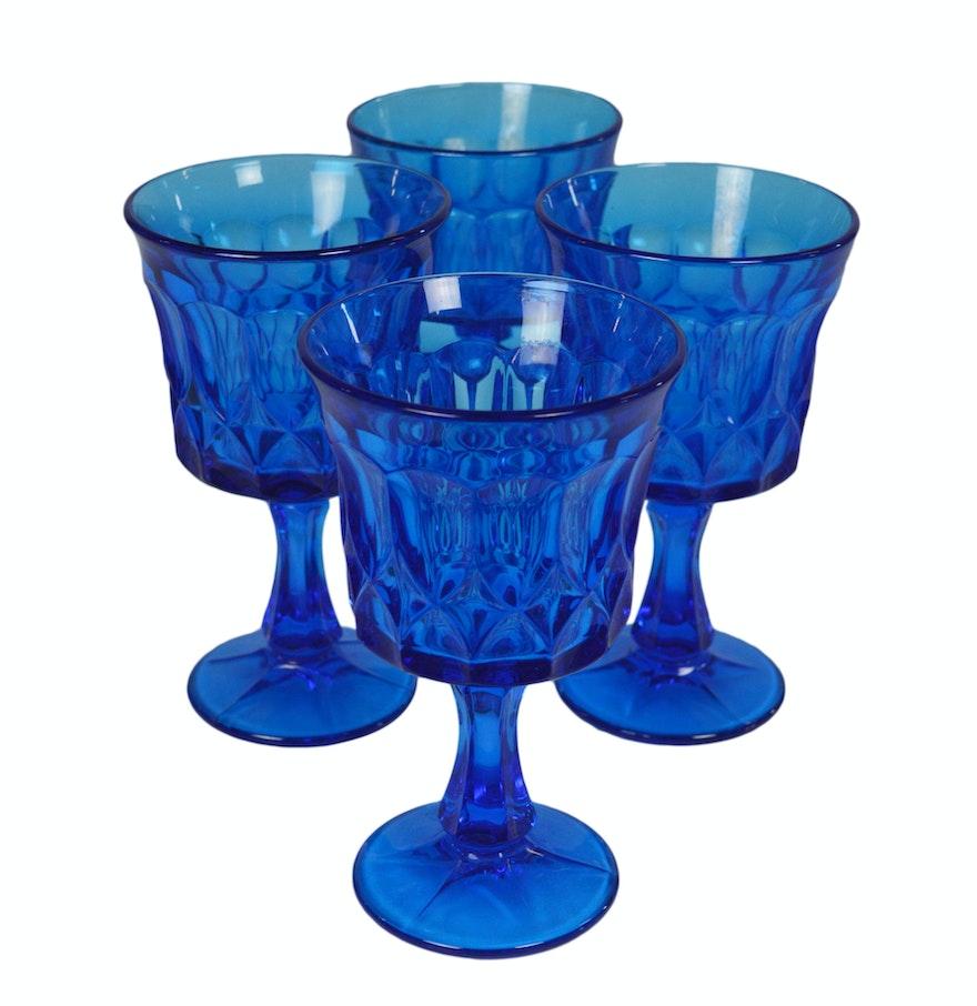 Vintage Glass Goblets 84