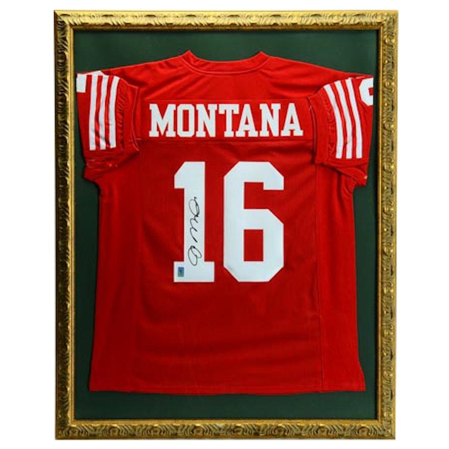 625e75f3a Joe Montana Signed Jersey COA   EBTH