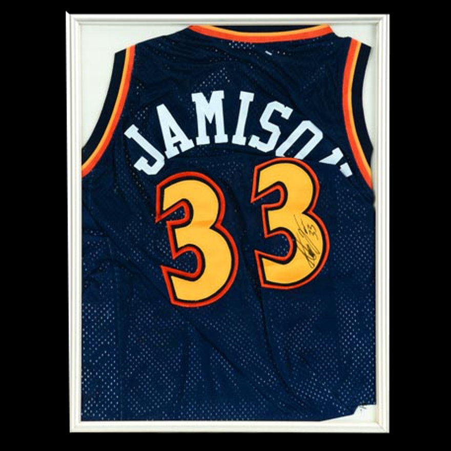 watch e6d81 55b29 Antawn Jamison Signed Jersey COA