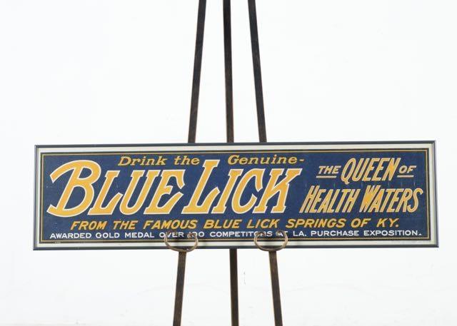 Licks restaurant sighn