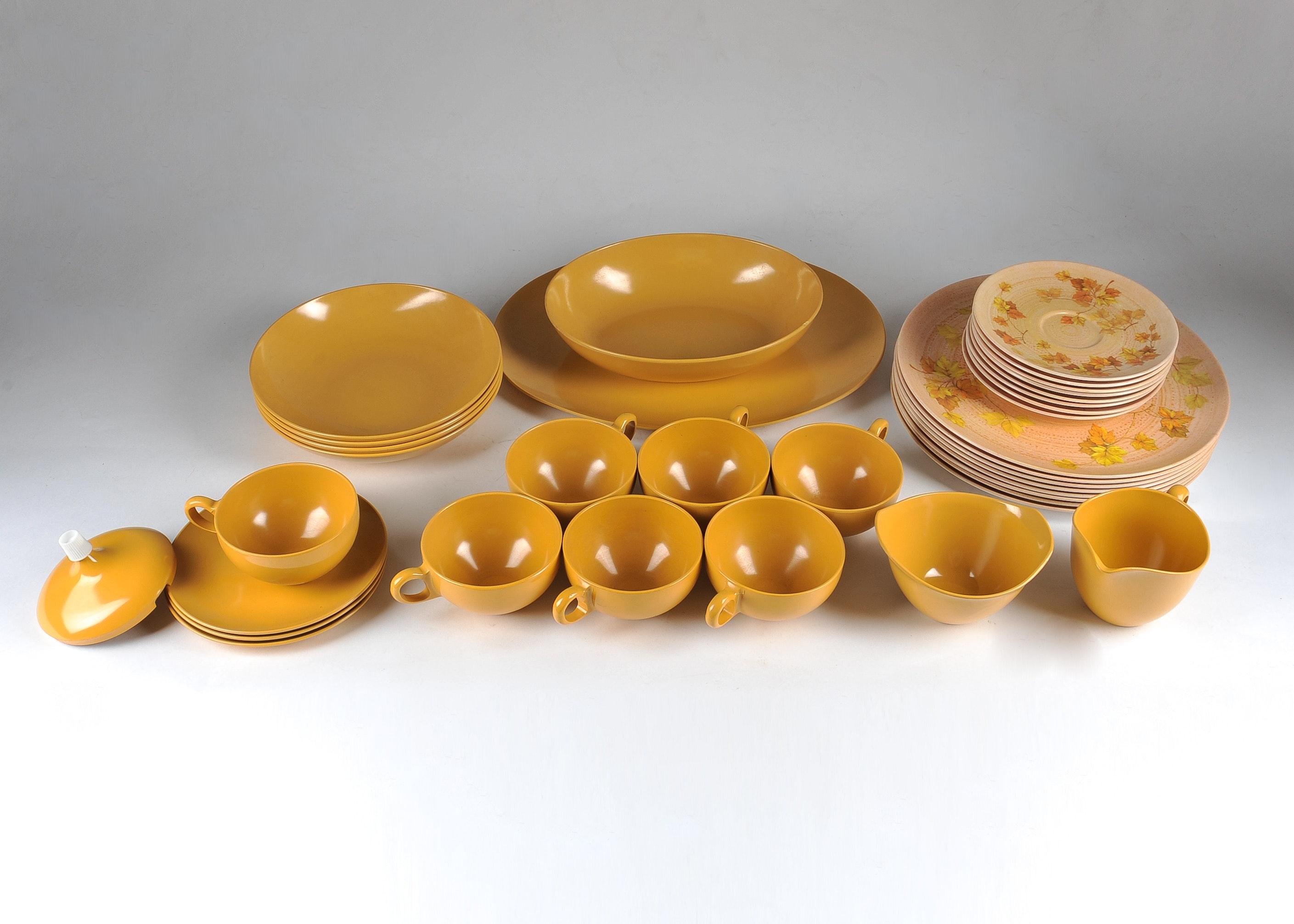 Vintage Oneida Melamine Dinnerware ... & Vintage Oneida Melamine Dinnerware : EBTH