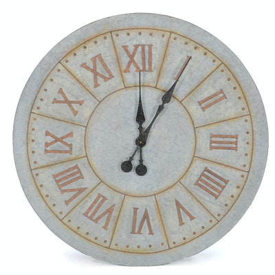 Antique wall clocks floor clocks and mantel clocks auction in frontgate outdoor clock gumiabroncs Gallery