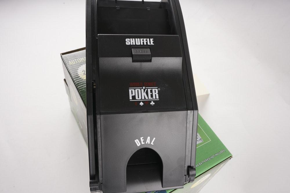 automatic card shuffler  ebth