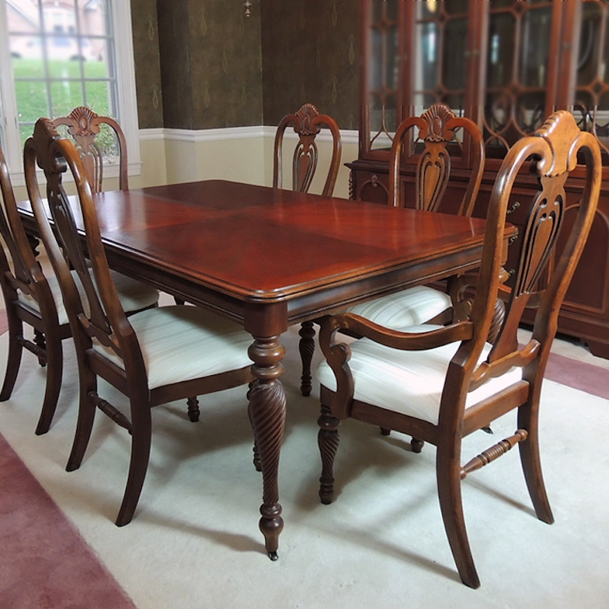 Room And Board Dining Chairs: Lexington Dining Room Table And Chairs : EBTH