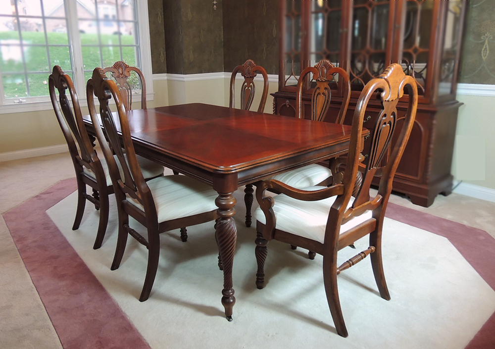 lexington dining room table and chairs ebth