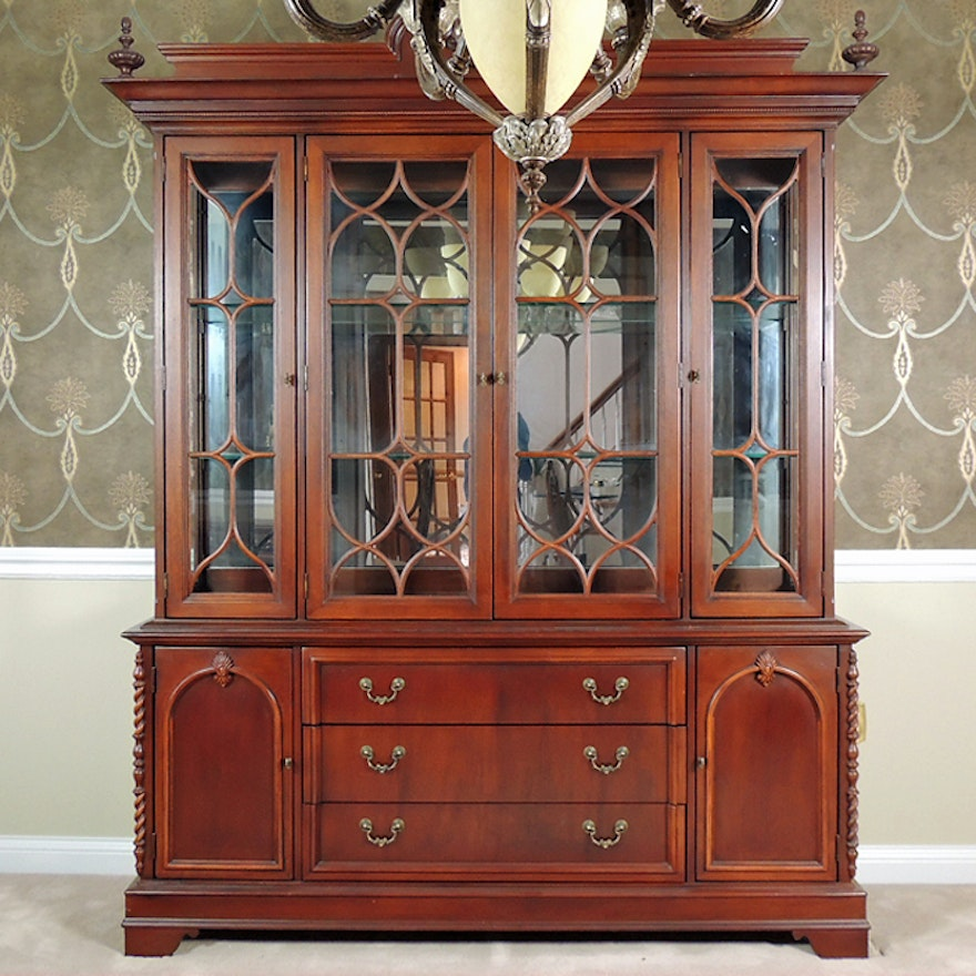 Lexington Dining Room China Cabinet : EBTH