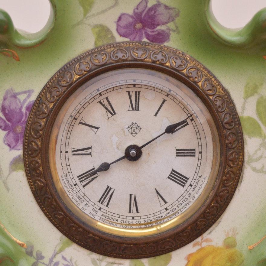 Vintage royal bonn mantel clock ebth for Royal motors lexington ky