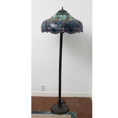 Vintage decor auctions vintage home decor for sale in for Depression glass floor lamp
