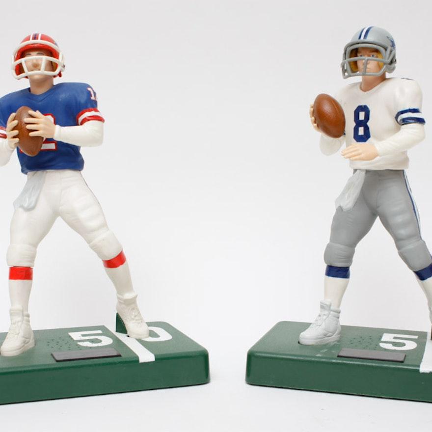 3123ccb96fc Dallas Cowboys and Buffalo Bills Football Figurines   EBTH
