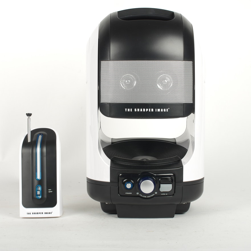 Sharper Image Indooroutdoor Wireless Speaker Set Ebth