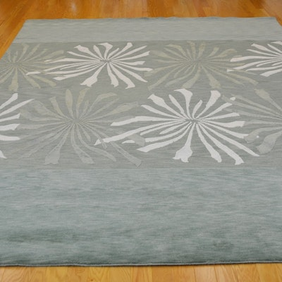 Indo Nepalse Contemporary Wool Area Rug
