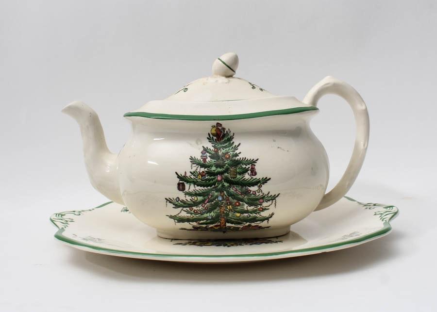 Spode Christmas Tree Pattern