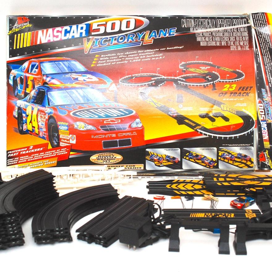 Nascar 500 Victory Lane Toy Slot Car Box : EBTH