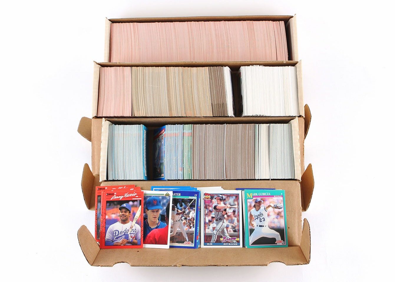 1980s and 1990s Baseball Trading Cards