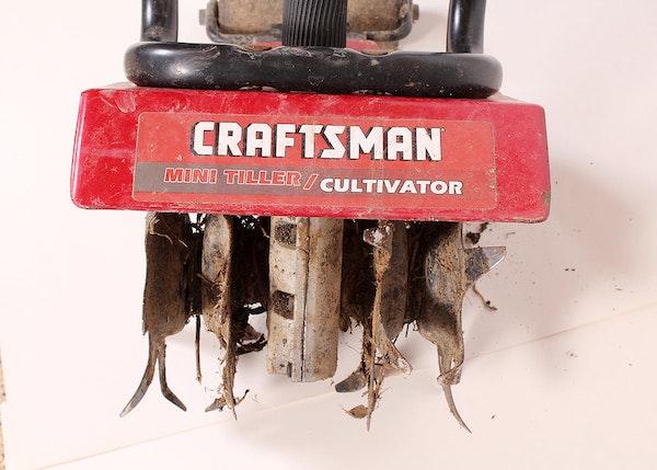 Craftsman Tiller Plow : Craftsman mini tiller cultivator ebth