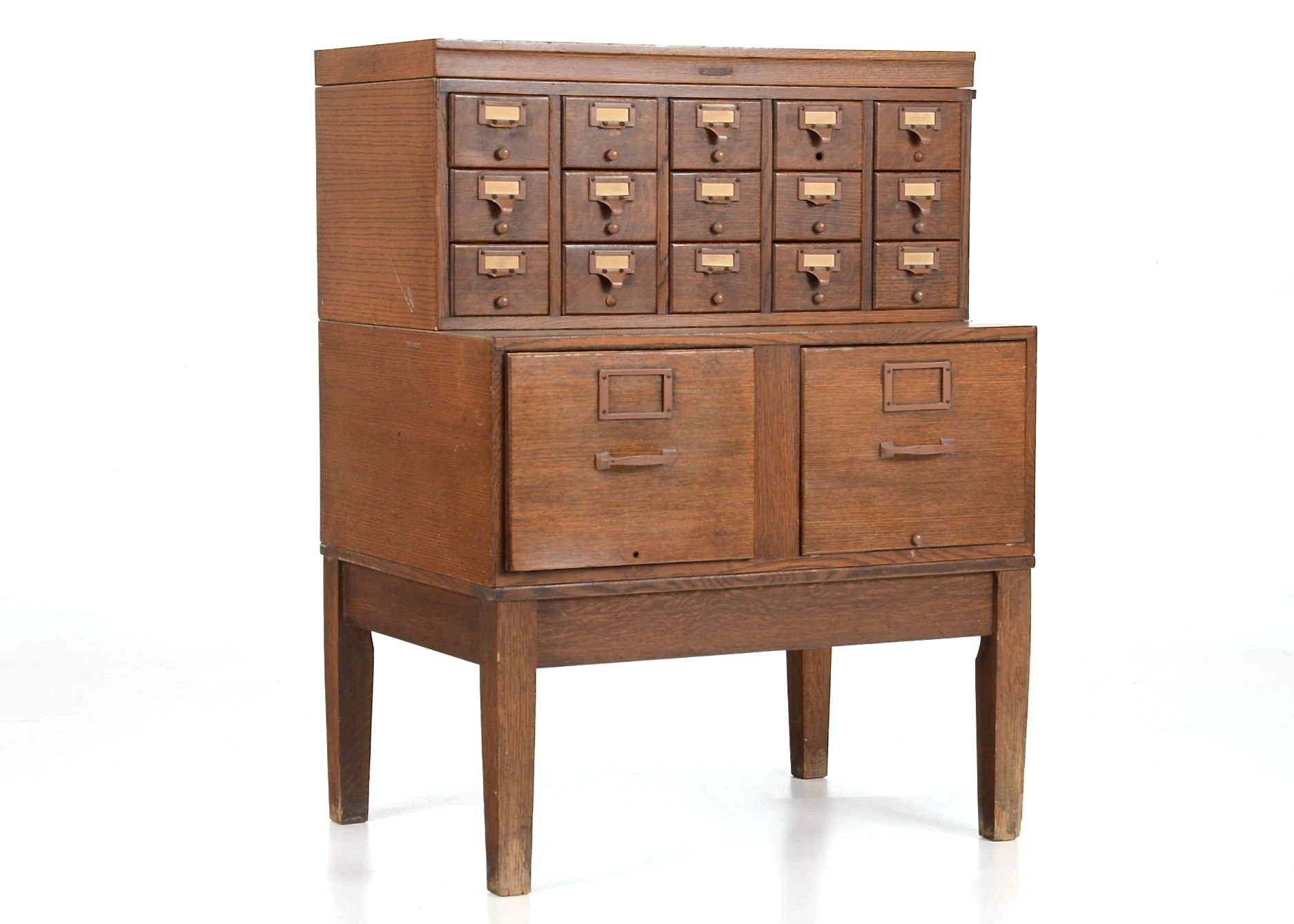Vintage Library Card Catalog Ebth