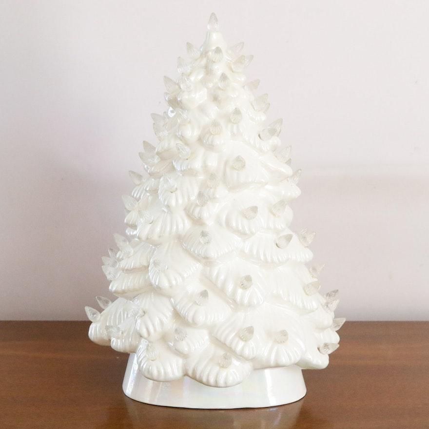 Atlantic Mold Ceramic Lighted Christmas Tree : EBTH