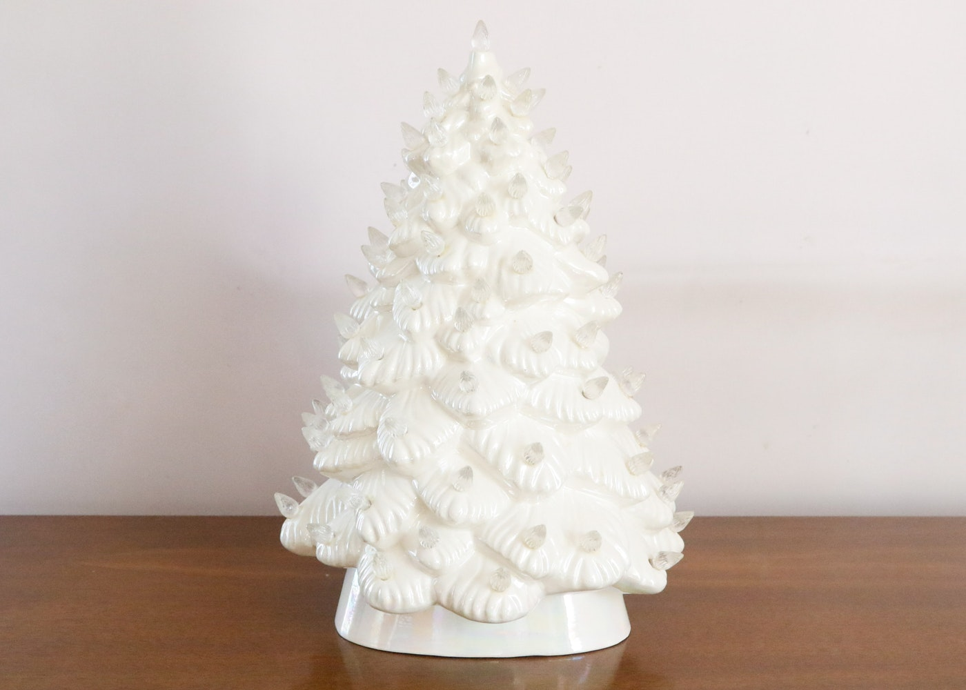 Atlantic Mold Ceramic Lighted Christmas Tree