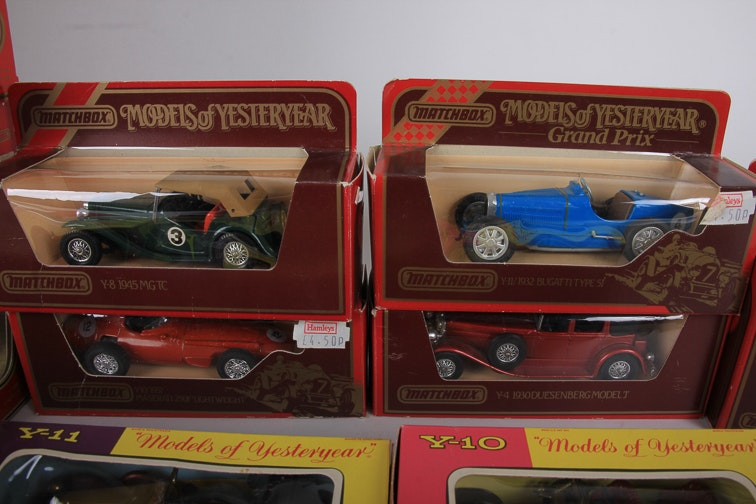 Collection Of Matchbox Cars Ebth