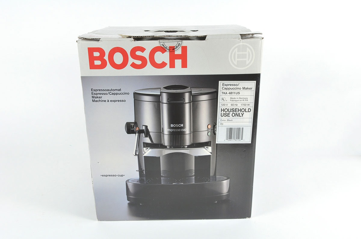 Centrifugal Coffee Maker : Bosch tka us centrifugal espresso machine ebth