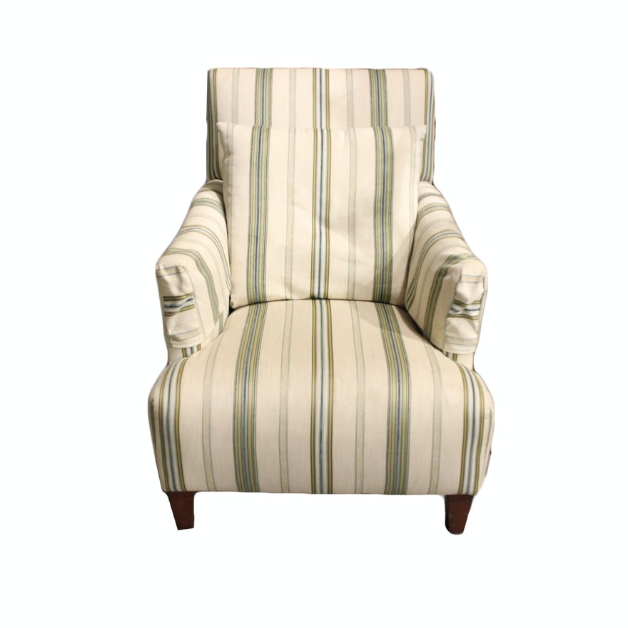 Upholstered Armchair By Sprintz Furniture Nashville Ebth