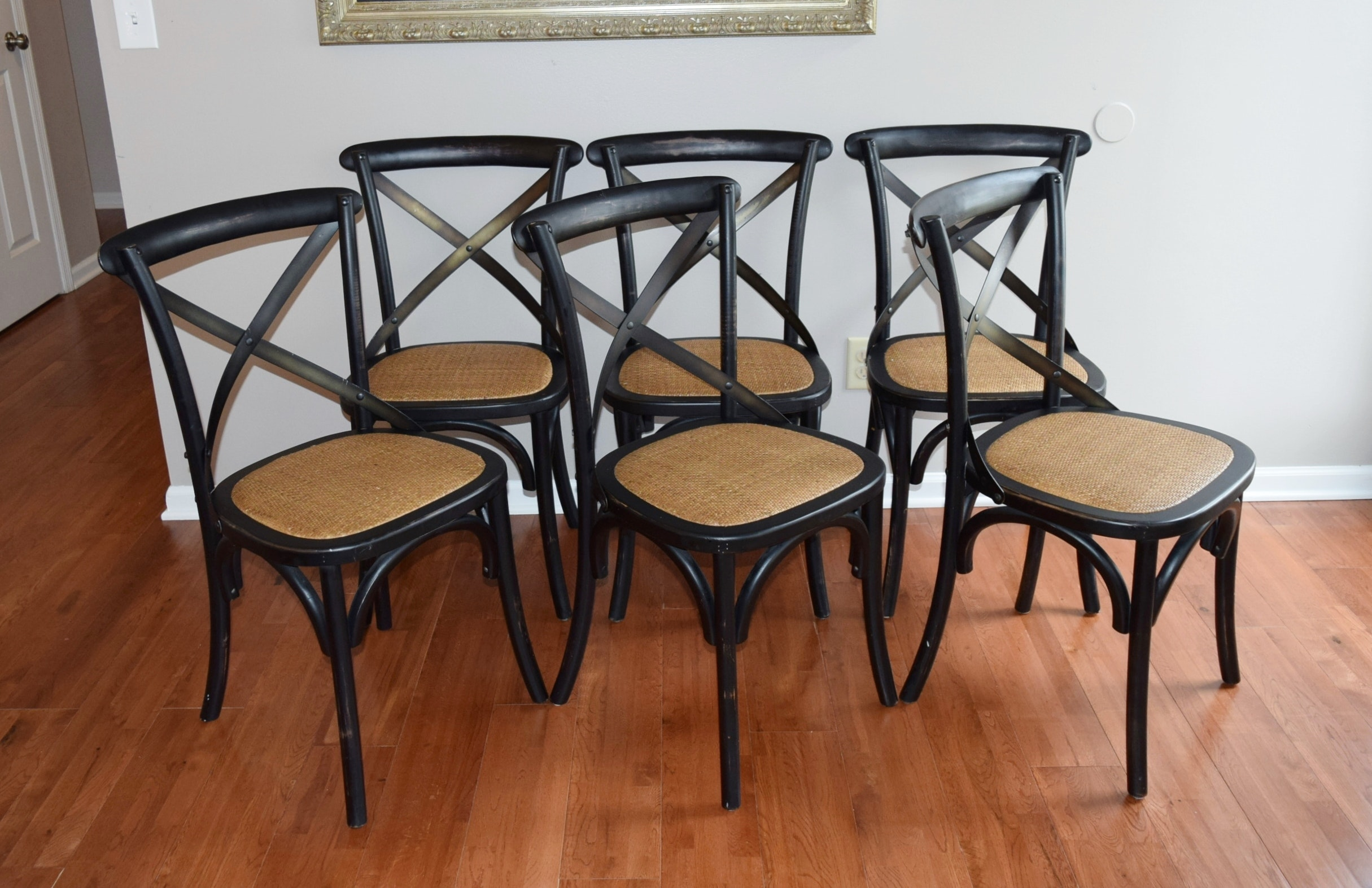 arhaus dining tables and chairs six arhaus quot cadence quot dining chairs ebth 348