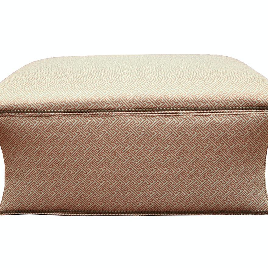Fabulous Fabric Storage Ottoman By Vanguard Furniture Ibusinesslaw Wood Chair Design Ideas Ibusinesslaworg