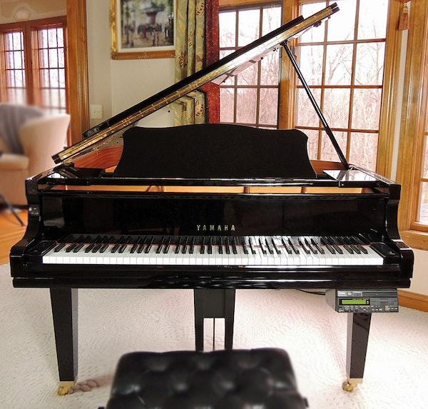 Yamaha baby grand dgc 1 disklavier player piano ebth for Yamaha disklavier grand piano