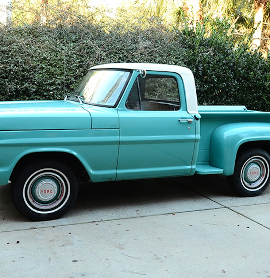 1968 Ford Truck Vin Decoder 1 - Ford F Truck - 1968 Ford Truck Vin Decoder 1