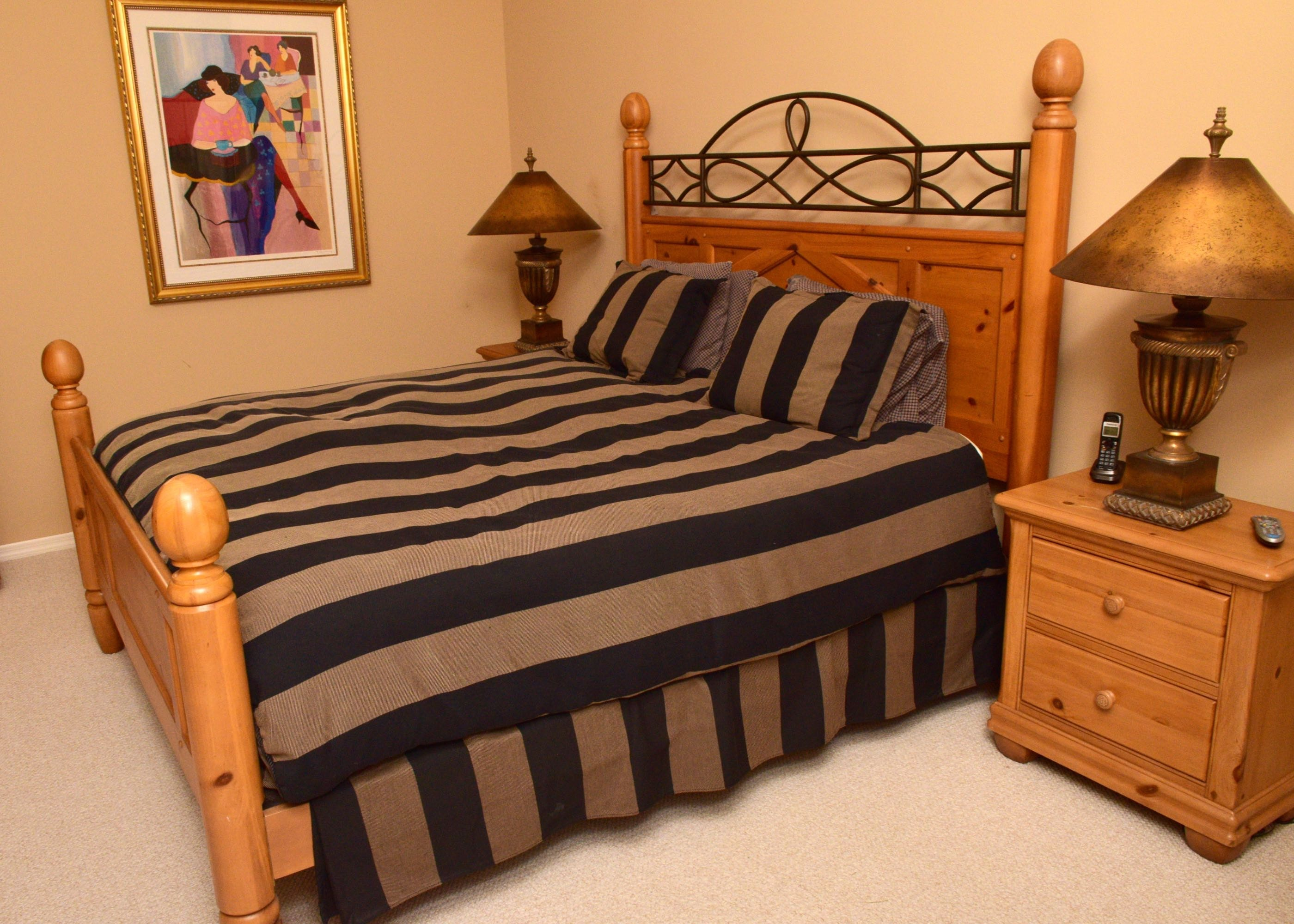 Alexander Julian Home Colours King Bed And Custom Bedding ...