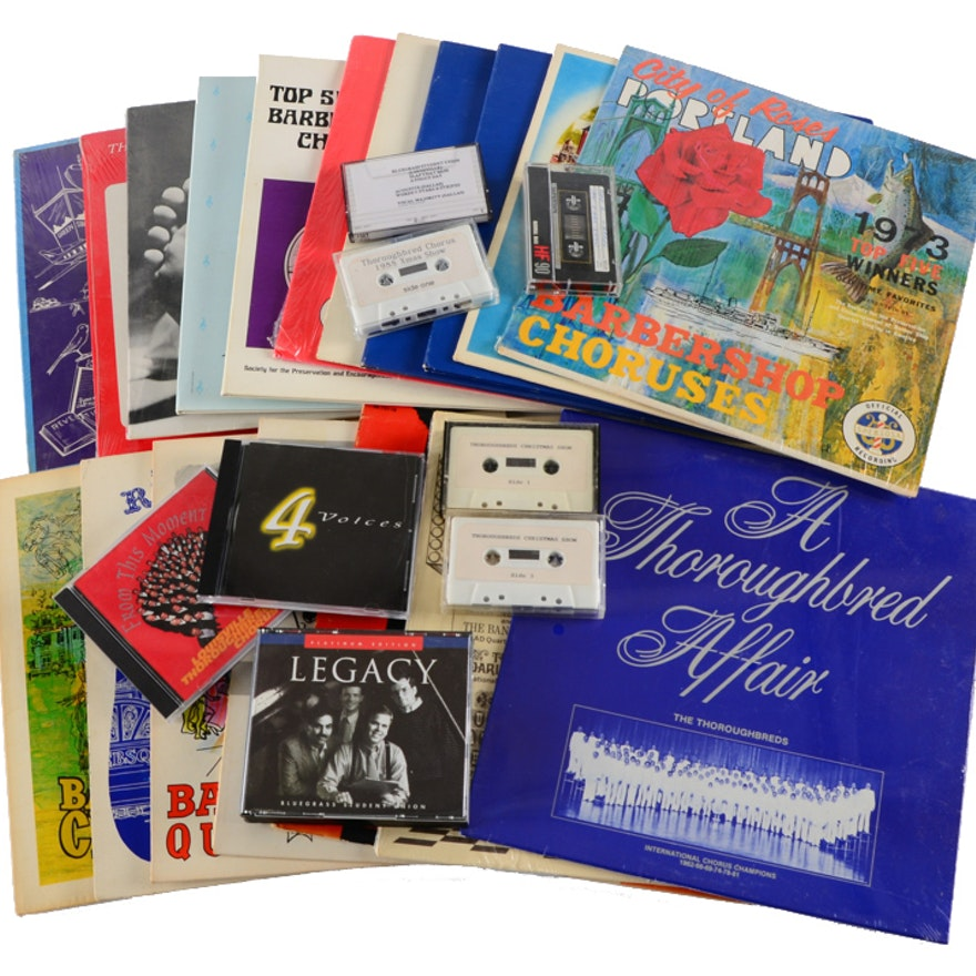 Barbershop Chorale and Quartet Recording Collection