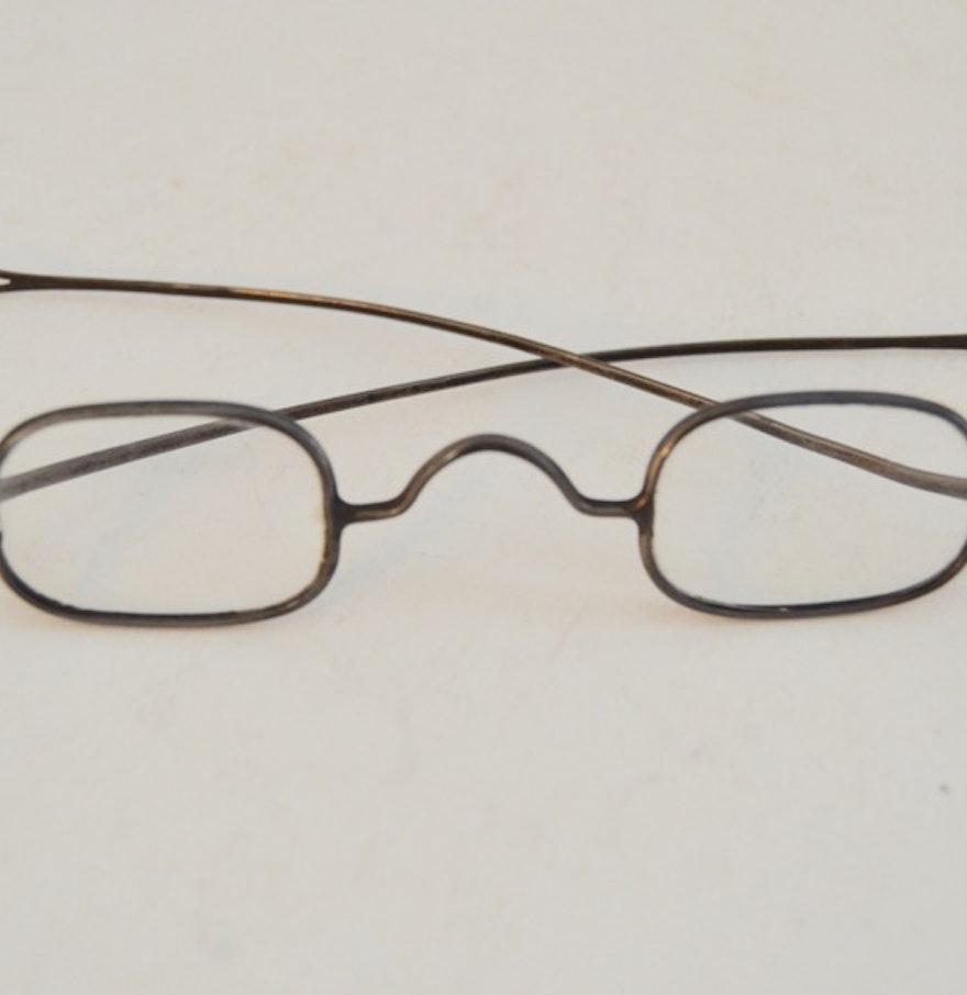 Eyeglass Frames On Consignment : Antique Reading Glasses : EBTH