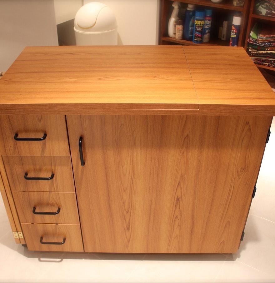 Sylvia Sewing Cabinets Sylvia Design Sewing Table Ebth