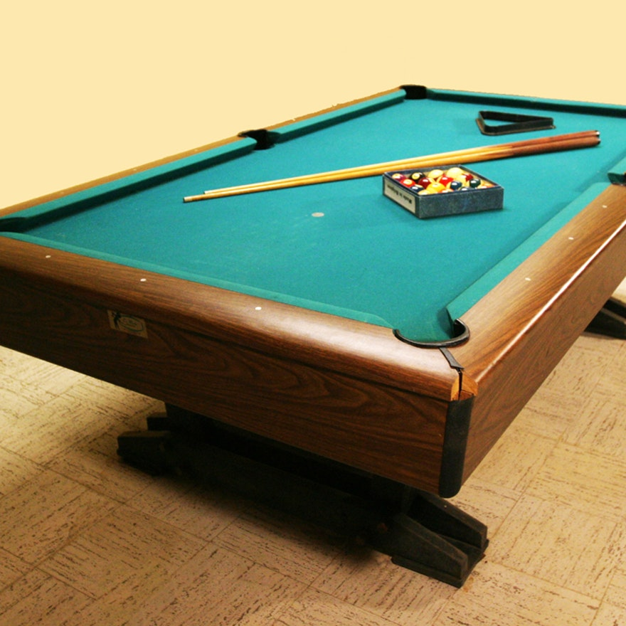 Cue Master Pool Table EBTH - Cue master pool table